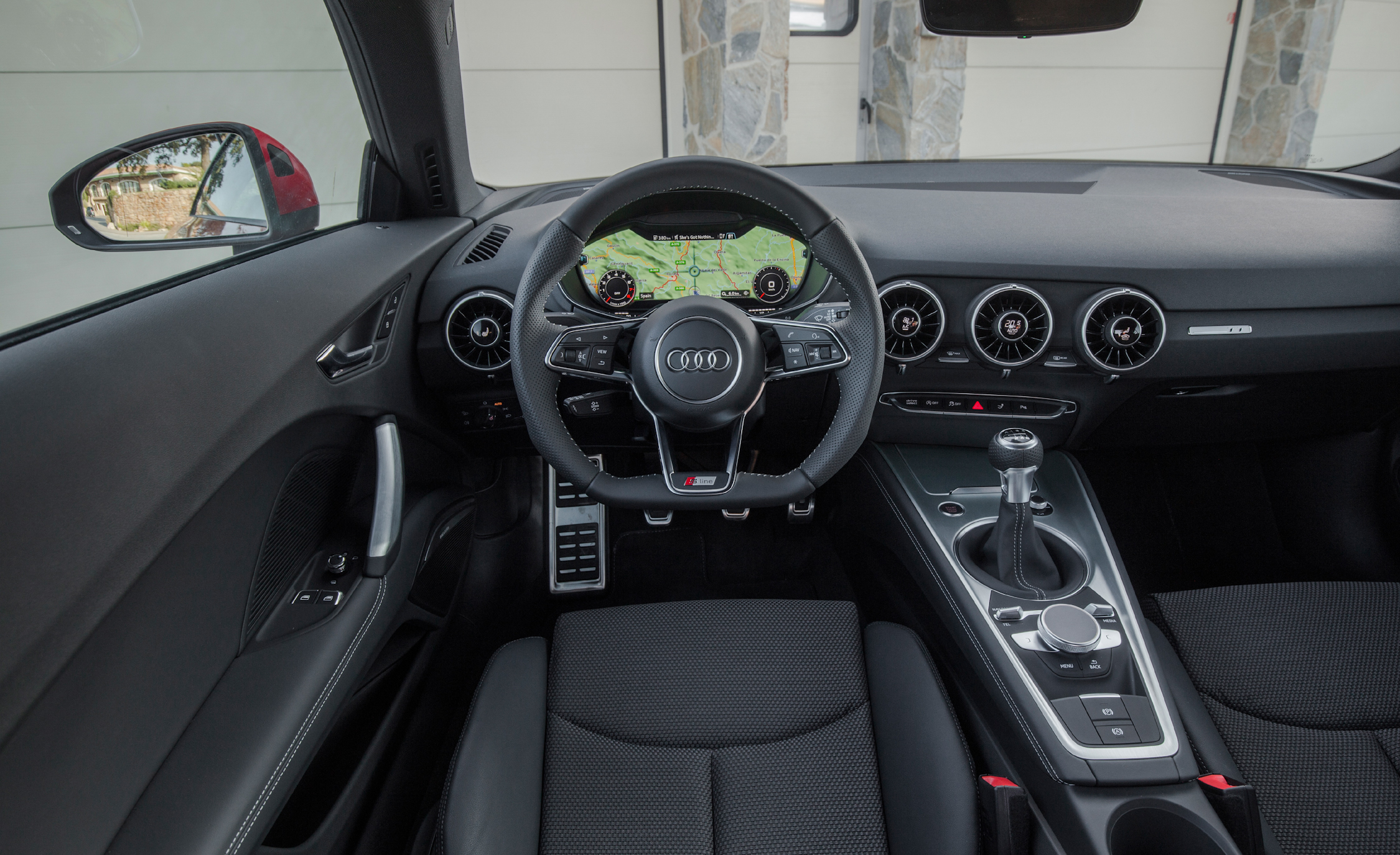 2016 Audi TT Coupe Interior Cockpit