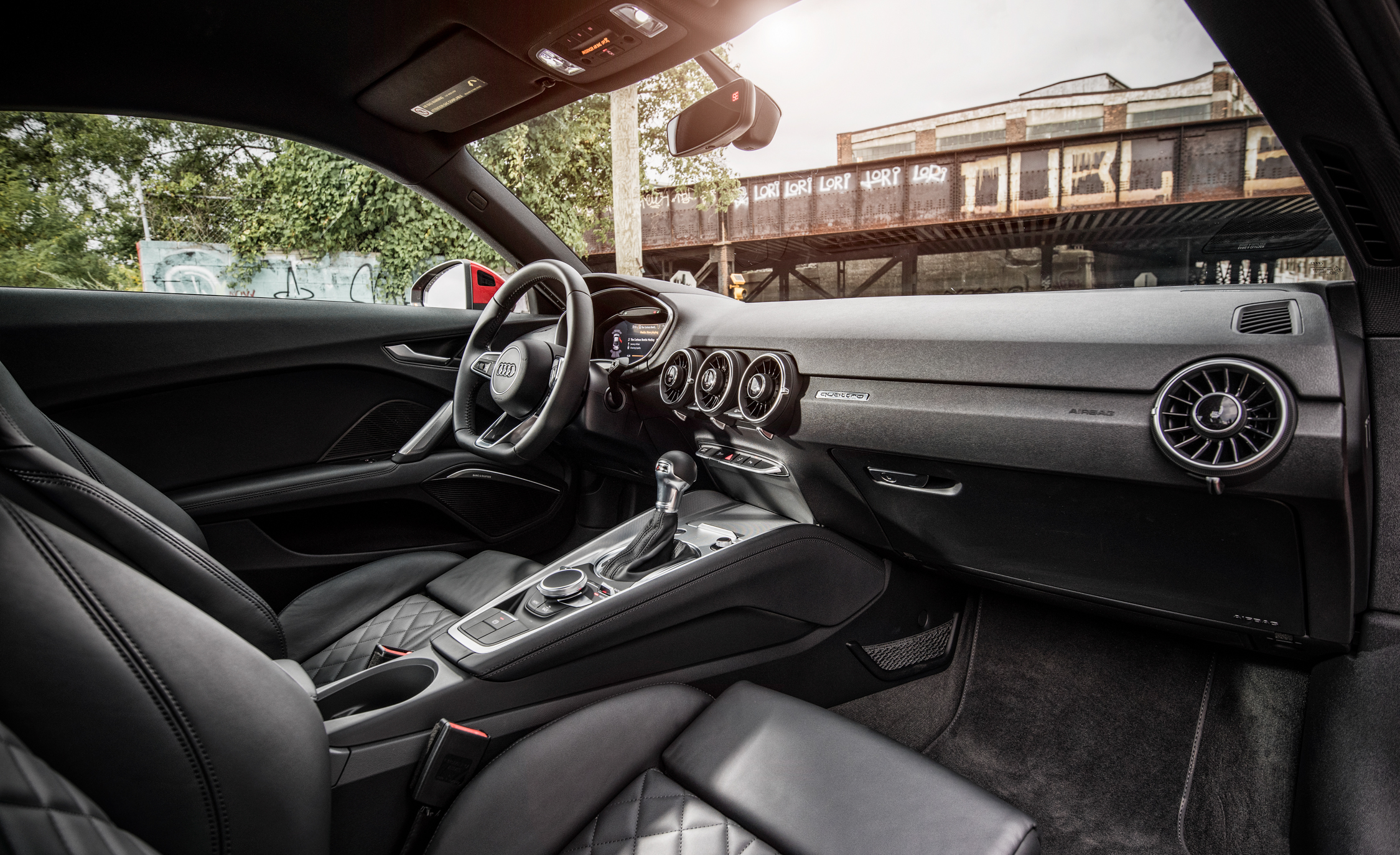 2016 Audi TT Coupe Interior