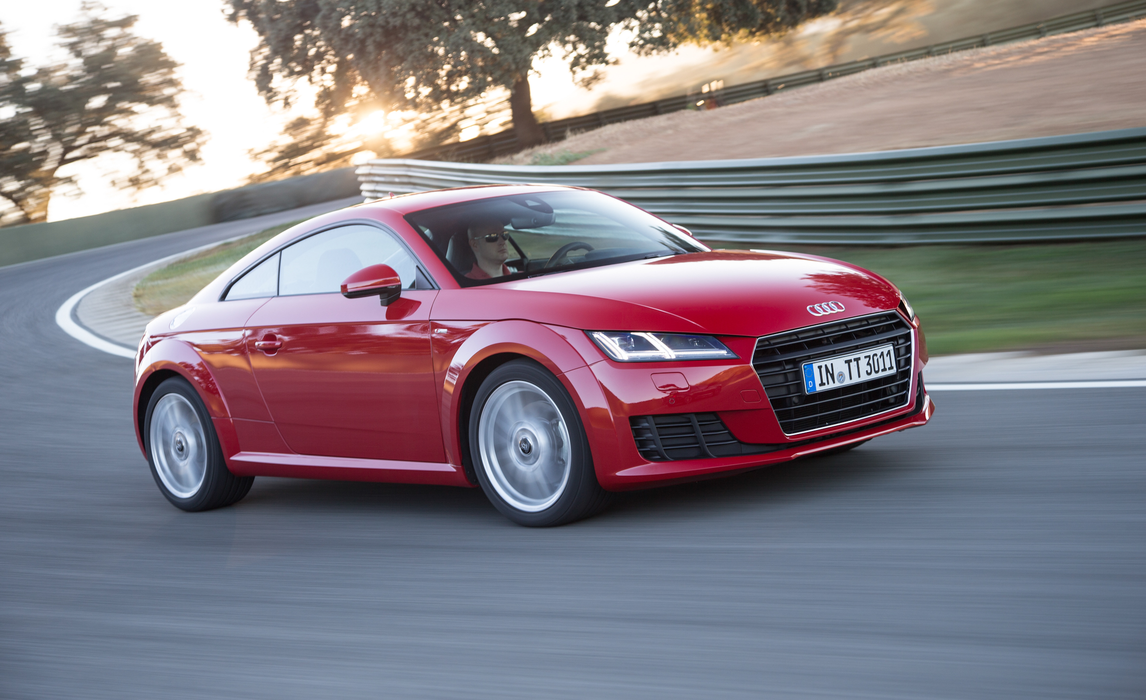 2016 Audi TT Coupe Test Drive