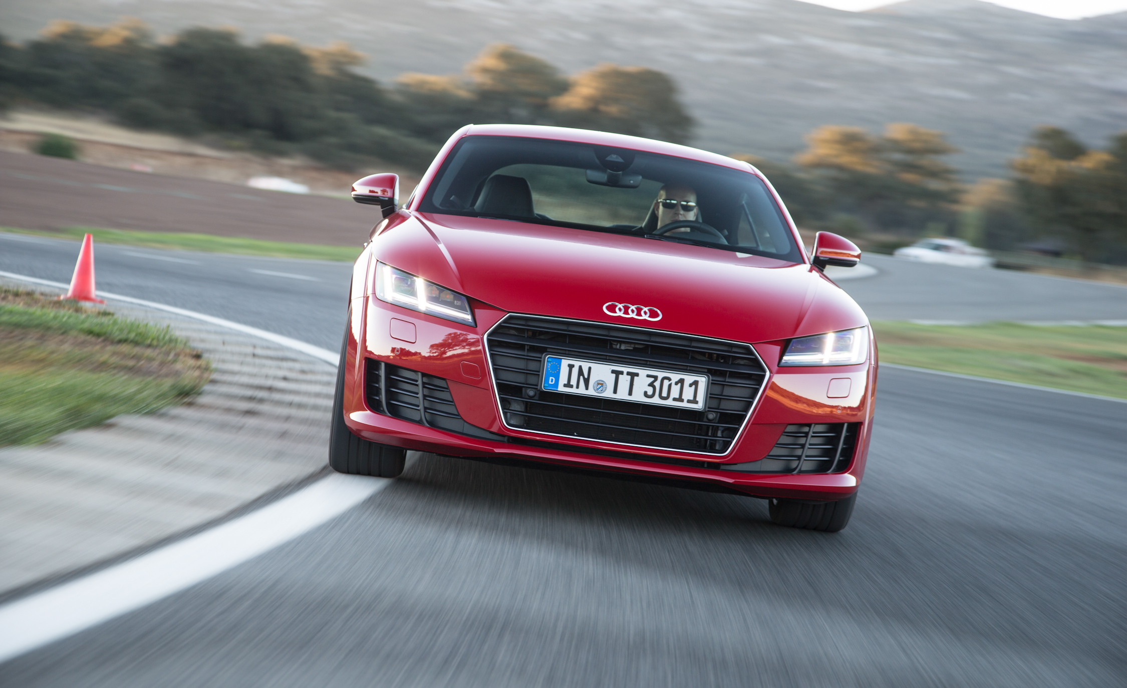 2016 Audi TT Coupe Test Front View