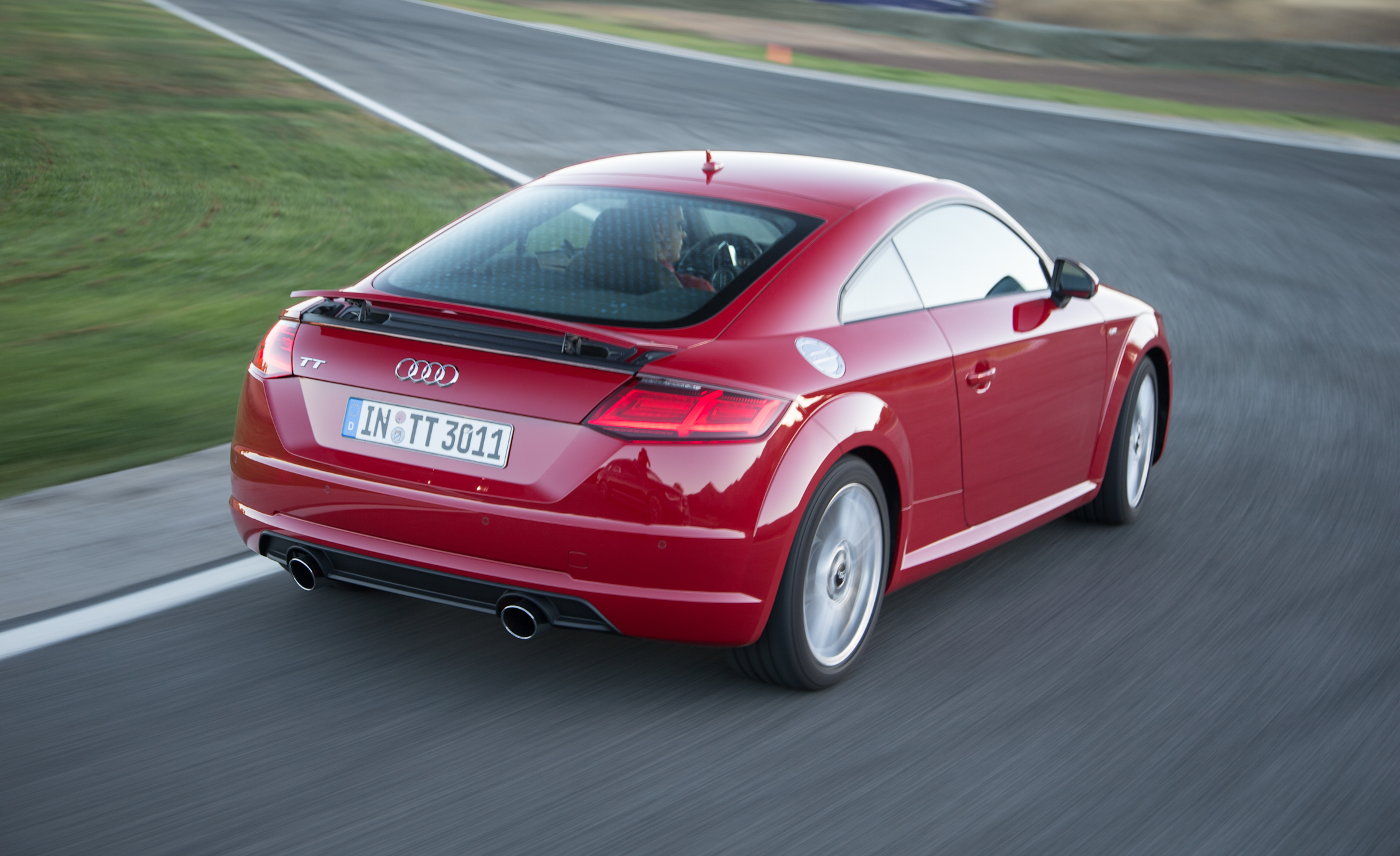 2016 Audi TT Coupe Test Performance