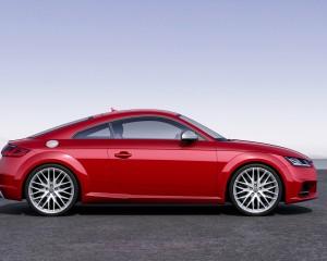 2016 Audi TTS Side Exterior View