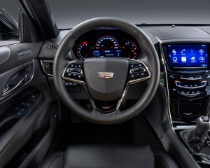 2016 Cadillac ATS-V Cockpit and Speedometer
