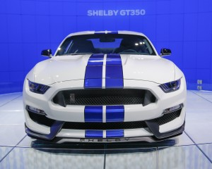2016 Ford Shelby GT350 Mustang Front End