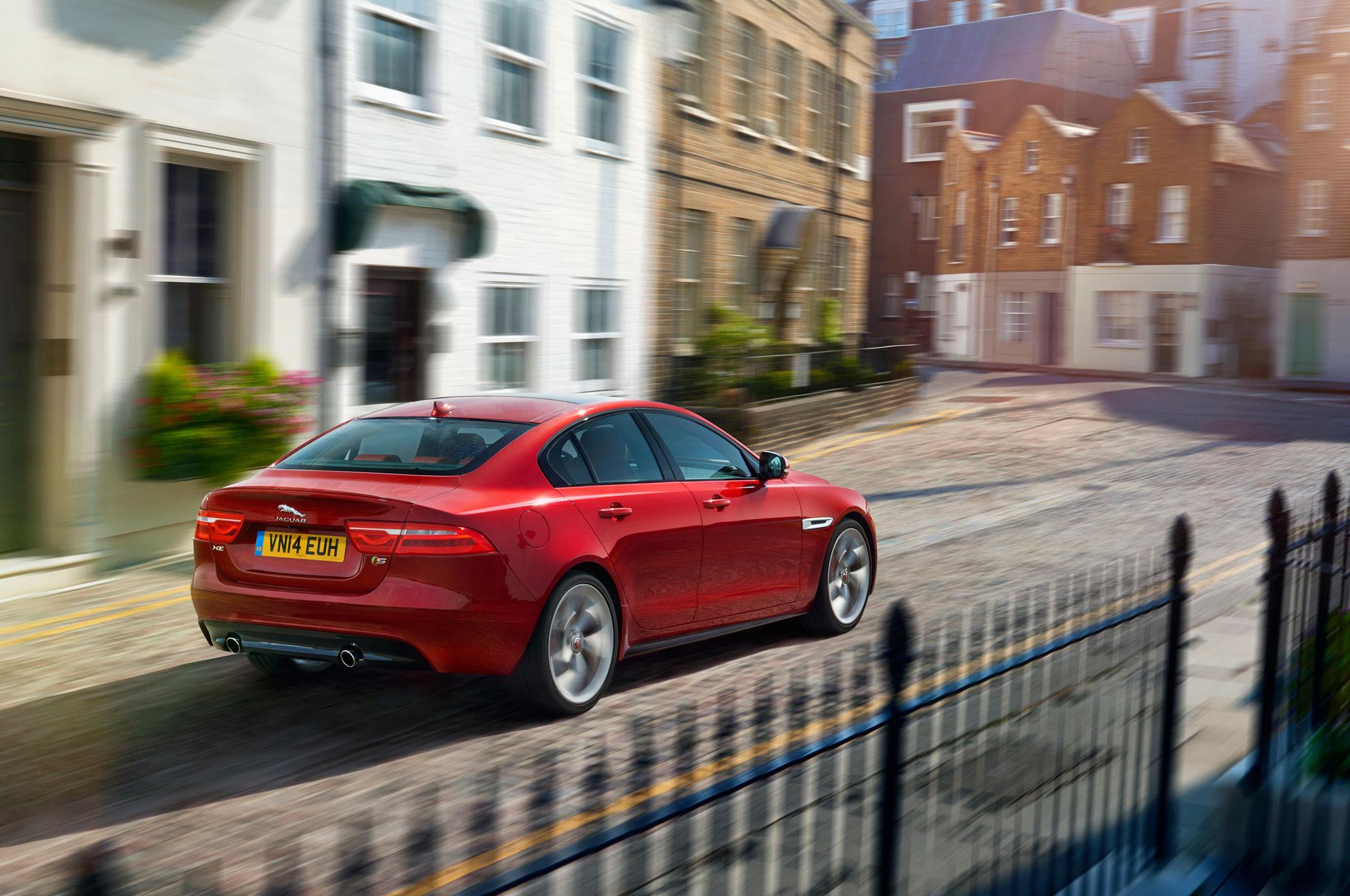 2016 Jaguar XE Front Side View