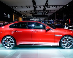 2016 Jaguar XE Red
