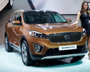 2016 Kia Sorento Front End Design