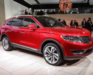 2016 Lincoln MKX Red Exterior Profile