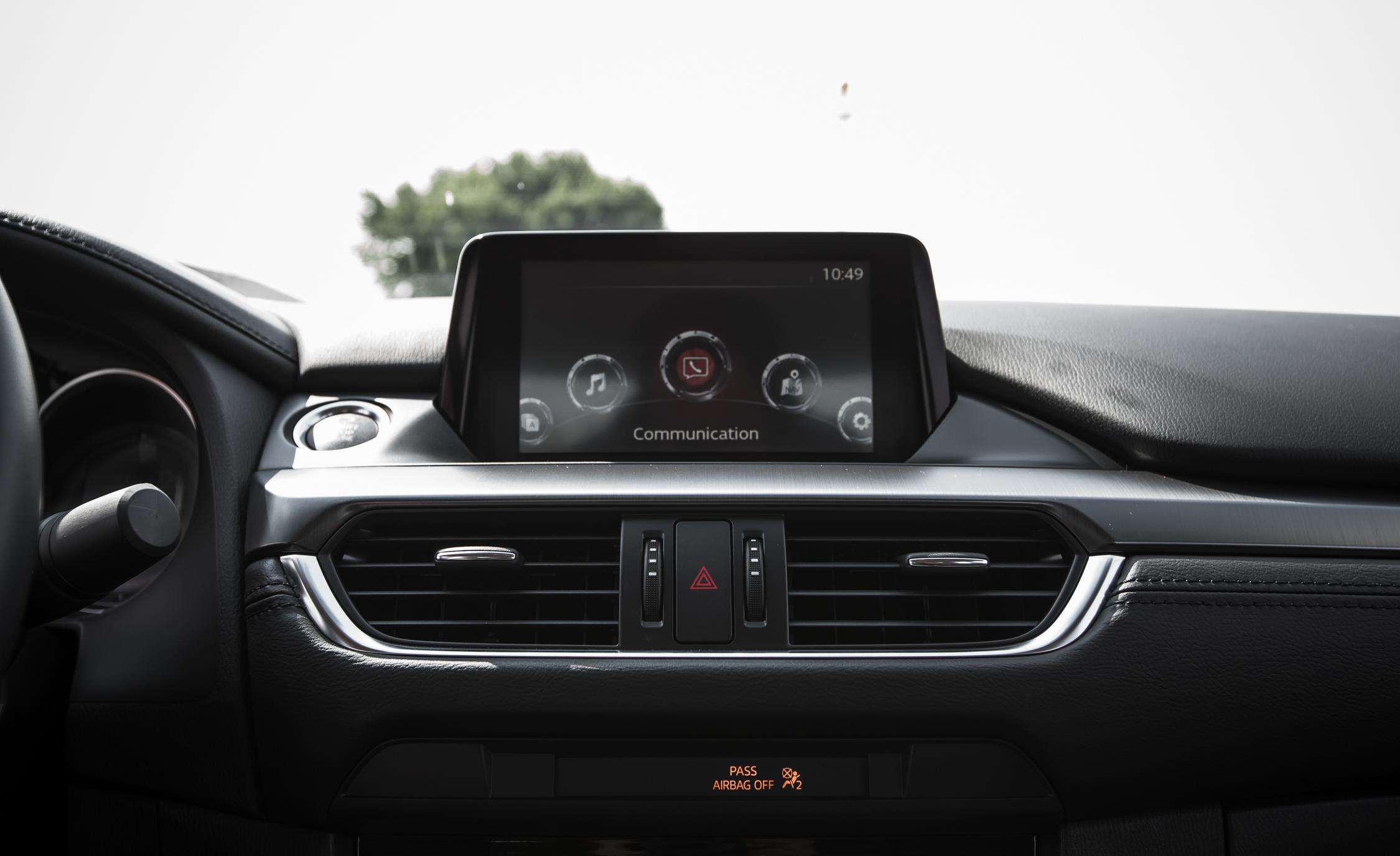 2016 Mazda 6 Touring Interior Center Head Unit