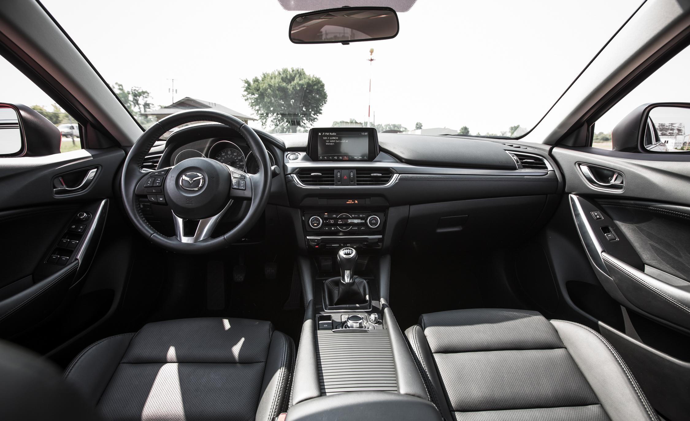 2016 Mazda 6 Touring Interior Dashboard