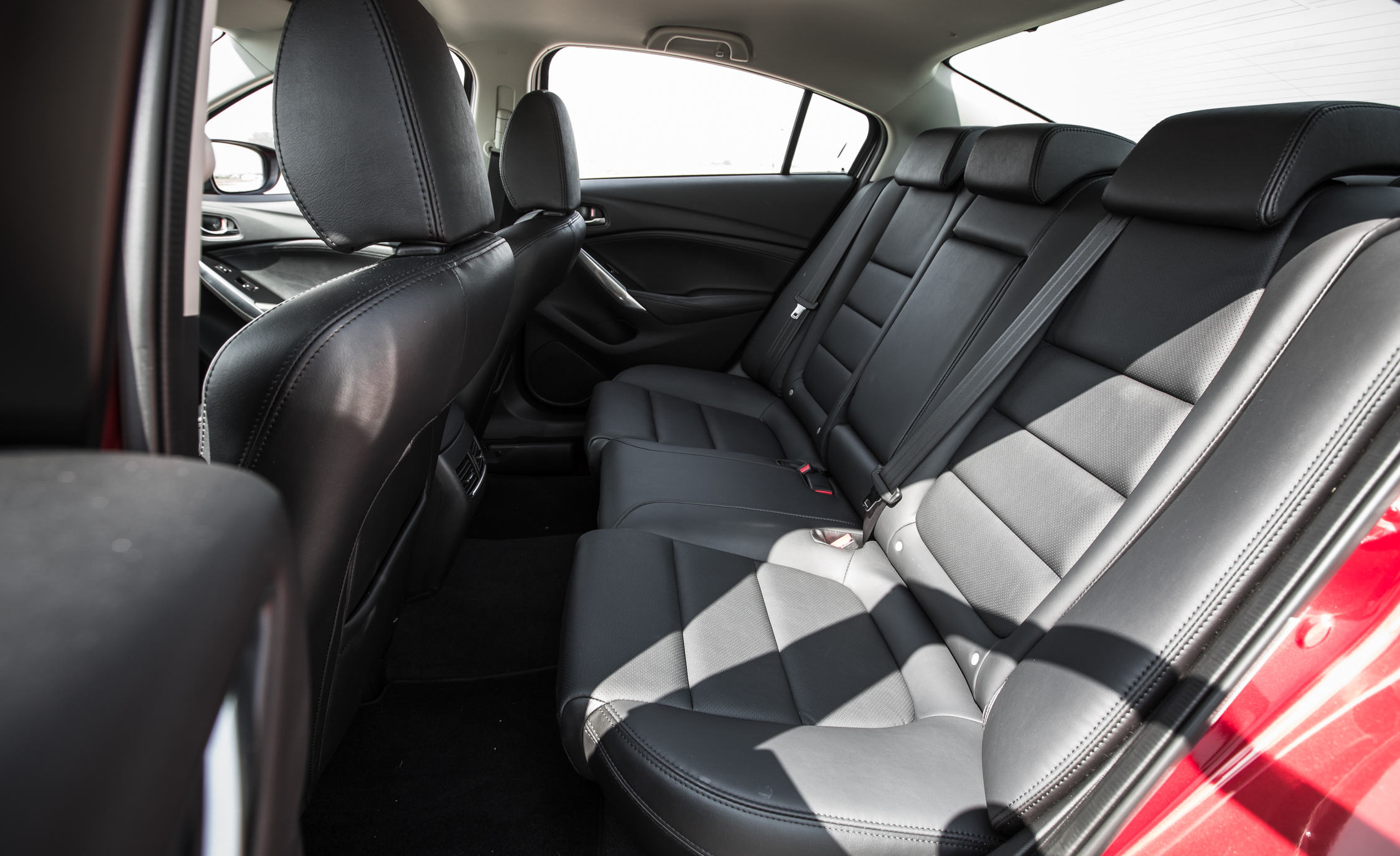 2016 Mazda 6 Touring Interior Rear Passenger Seats