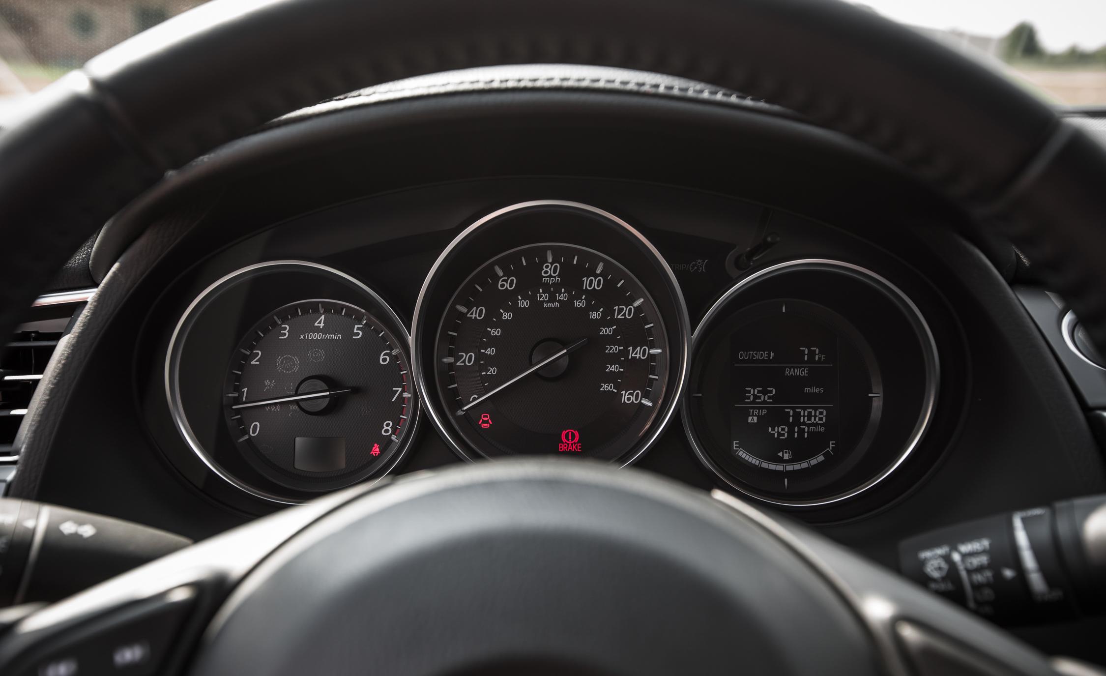 2016 Mazda 6 Touring Interior Speedometer