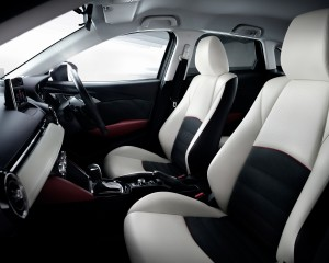 2016 Mazda CX-3 Interior Front Seats