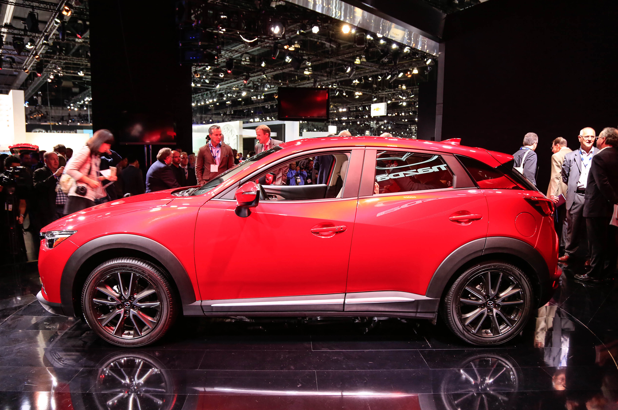 2016 Mazda CX-3 Side Design Preview