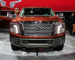 2016 Nissan Titan Front Grille Photo