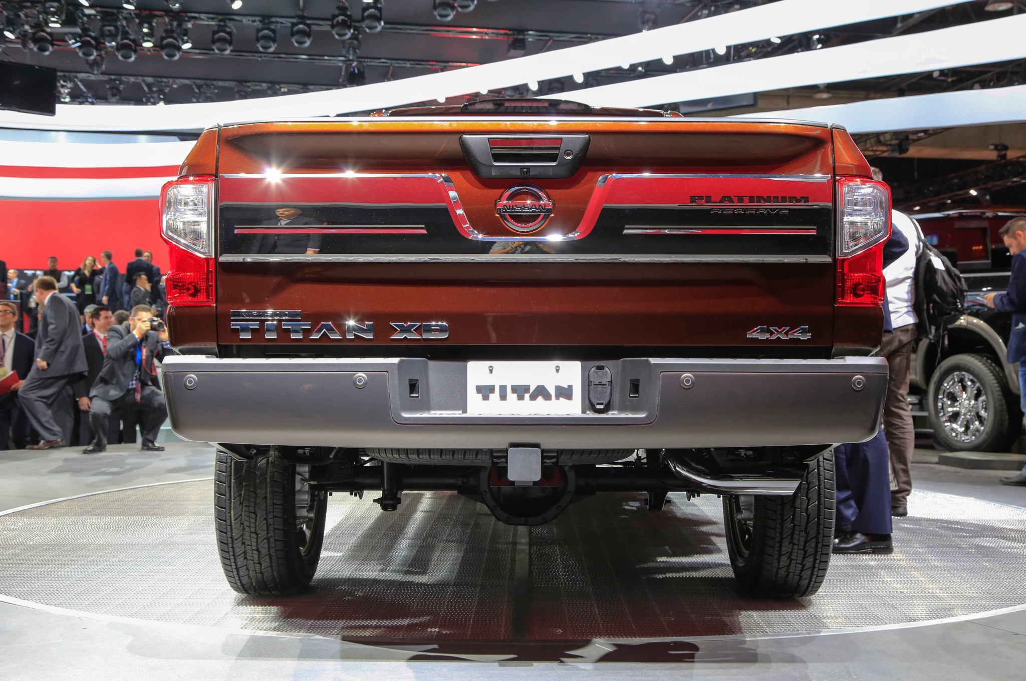 2016 Nissan Titan Rear End Photo