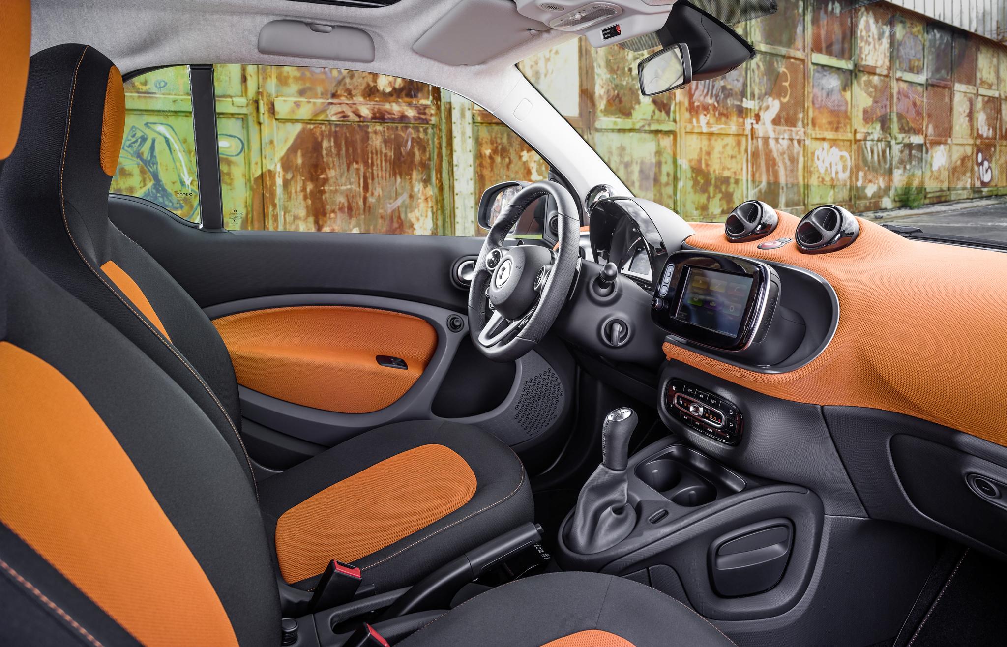 2016 Smart Fortwo Interior Seats