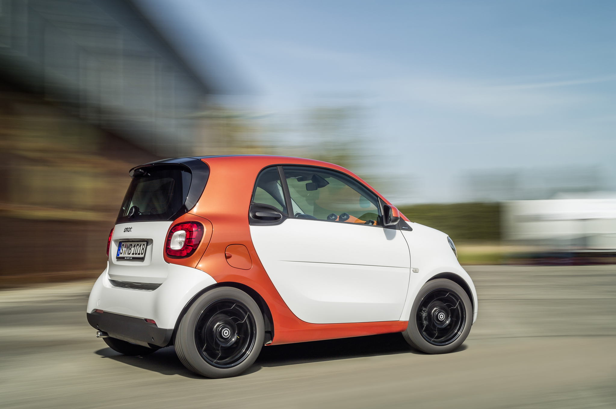 2016 Smart Fortwo Test Drive