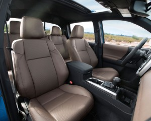 2016 Toyota Tacoma Limited Interior Seats Preview