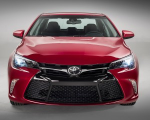 All New 2015 Toyota Camry Front Model