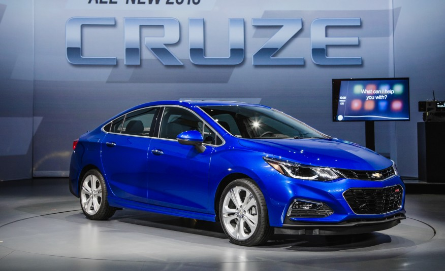 All New 2016 Chevrolet Cruze