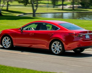 Mazda 6 Test Drive