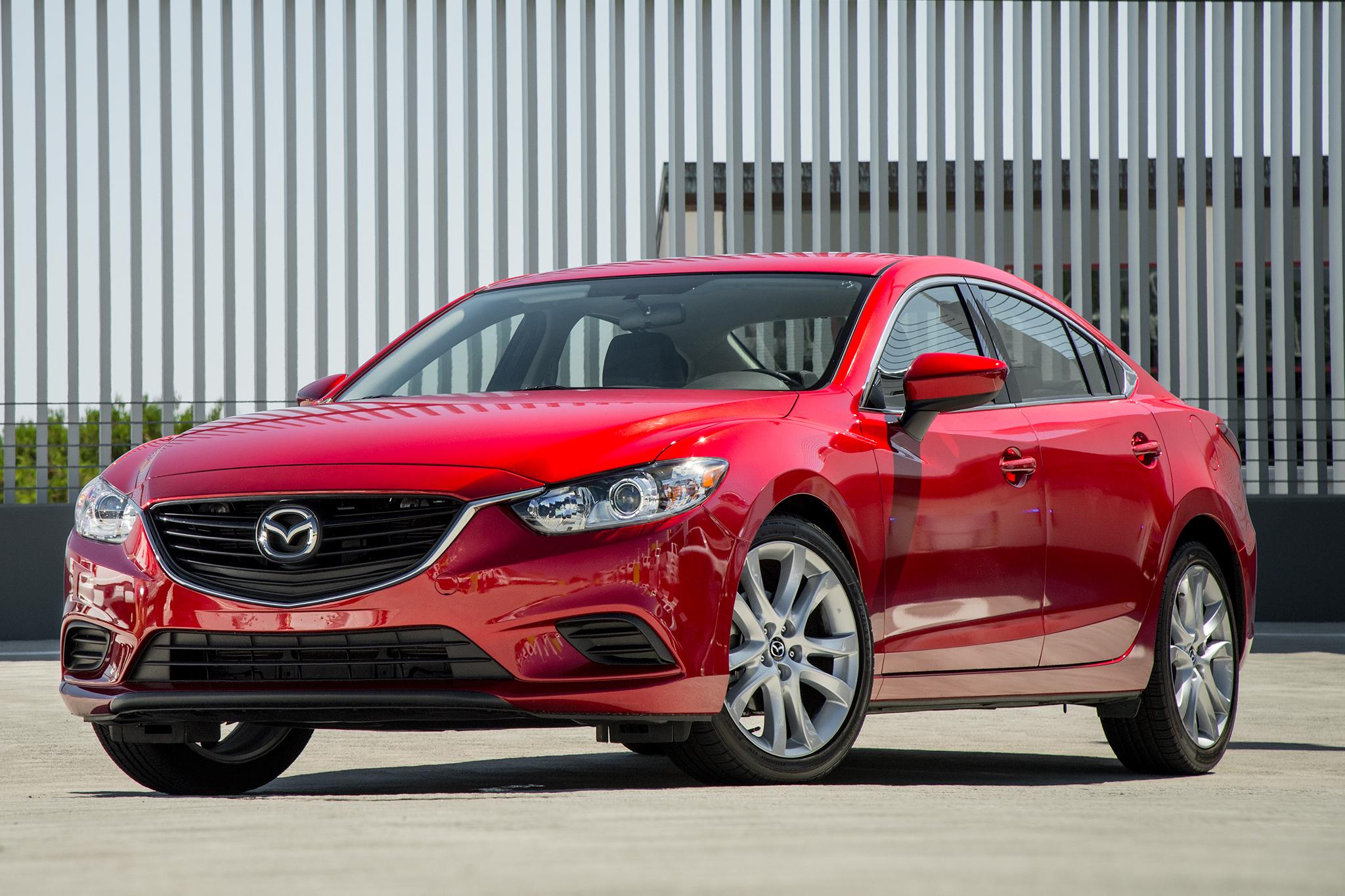 New 2015 Mazda 6 Red