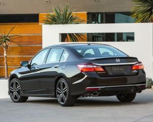 New 2016 Honda Accord Rear View