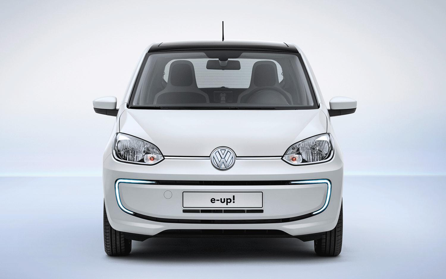 2014 Volkswagen e-Up Front End Photo