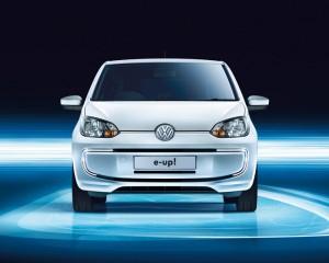 2014 Volkswagen e-Up Front View