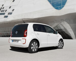 2014 Volkswagen e-Up Rear Side Exterior
