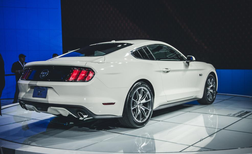 2015 Ford Mustang 50th Anniversary Edition Exterior Preview