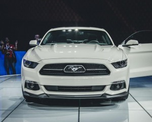 2015 Ford Mustang 50th Anniversary Edition Front End