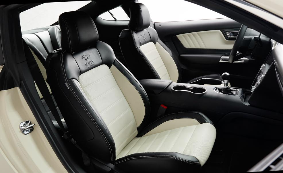 2015 Ford Mustang 50th Anniversary Edition Front Seats