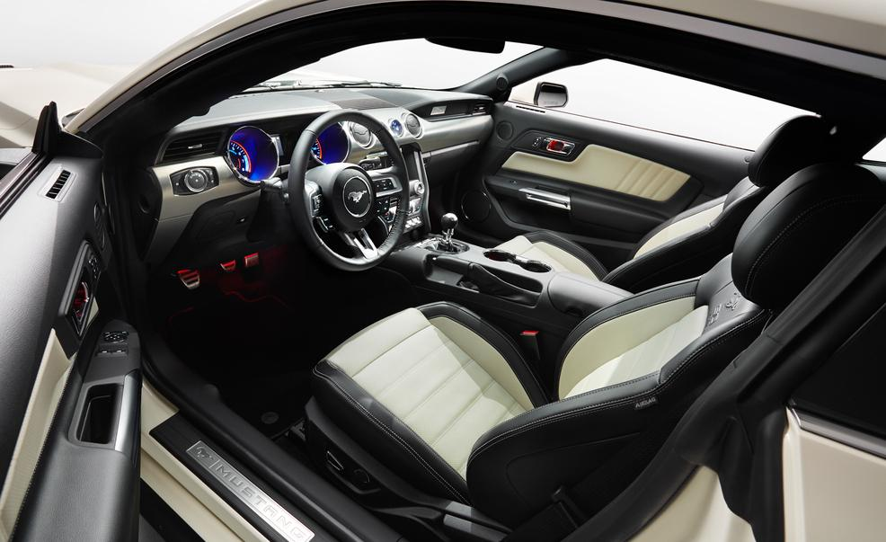 2015 ford mustang limited 50th anniversary edition 1563 cars performance reviews and test drive - Ford Gt40 2015 Interior