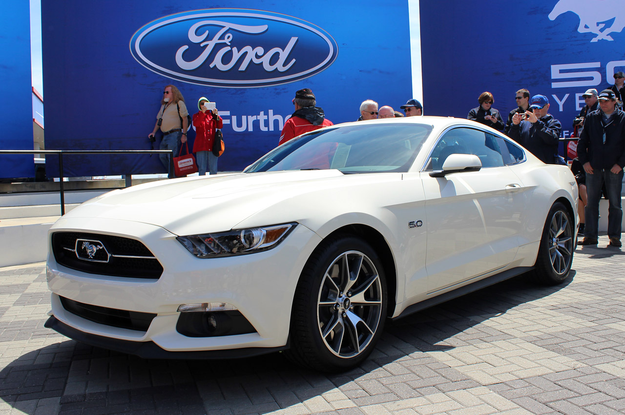 2015 Ford Mustang Limited 50th Anniversary Edition 1563  Cars