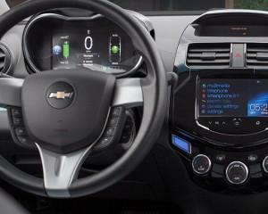 2015 Spark EV Dashboard View