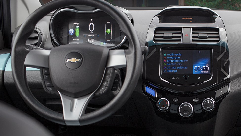 2015 spark ev dashboard view 1680 cars performance reviews and test drive. Black Bedroom Furniture Sets. Home Design Ideas