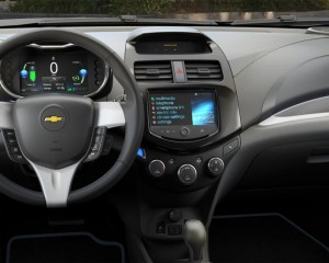 2015 Spark EV Dashboard and Cockpit