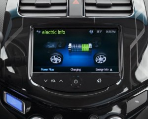 2015 Spark EV Head Unit Preview