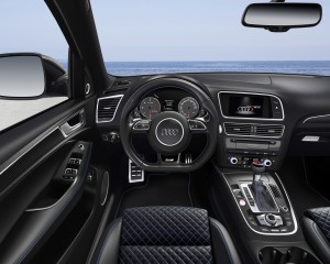 2016 Audi SQ5 TDI Plus Cockpit Interior