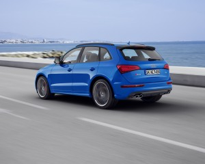 2016 Audi SQ5 TDI Plus Rear Side Exterior