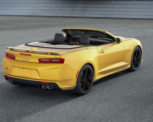 2016 Chevrolet Camaro Convertible Rear Exterior