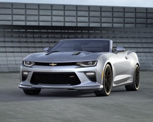 2016 Chevrolet Camaro Convertible Silver Front Photo