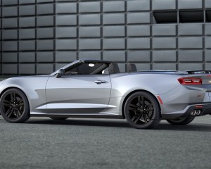 2016 Chevrolet Camaro Convertible Silver Side Preview