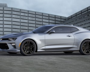 2016 Chevrolet Camaro Silver White Preview