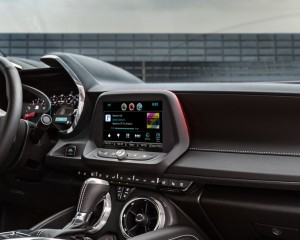 2016 Chevrolet Camaro Six Dashboard and Head-Unit