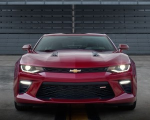 2016 Chevrolet Camaro Six Front End Exterior