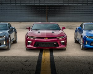 2016 Chevrolet Camaro Six Front Photo