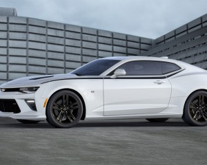 2016 Chevrolet Camaro White Exterior Preview